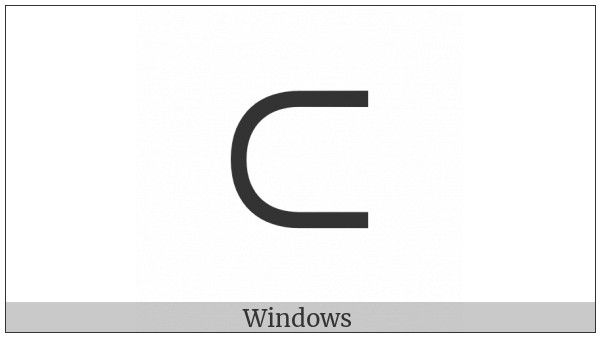 Canadian Syllabics Ta on various operating systems