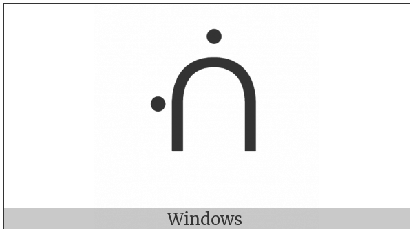 Canadian Syllabics Twii on various operating systems