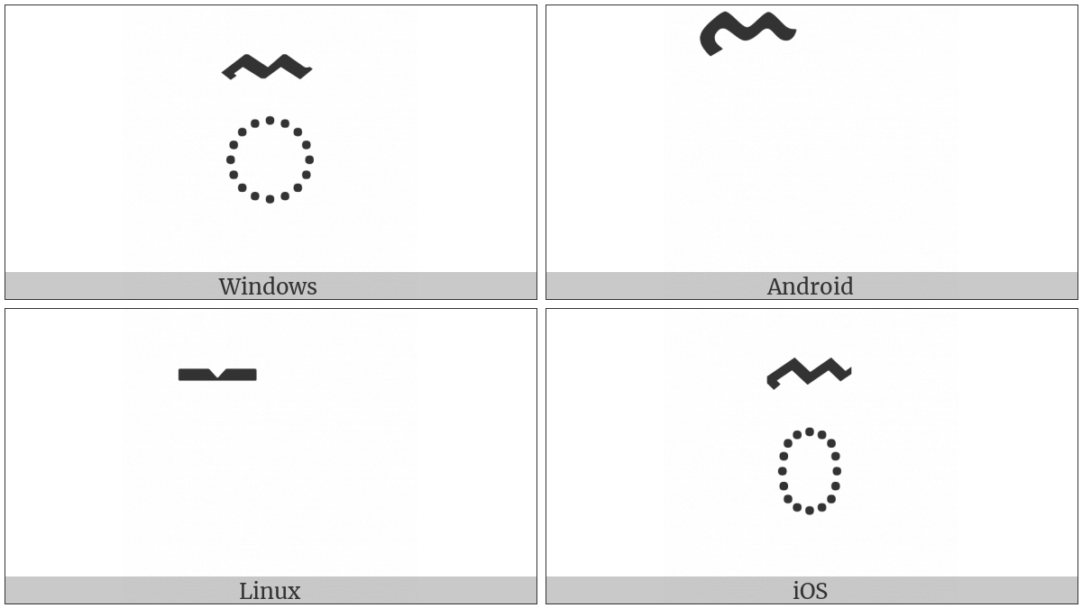 Khmer Sign Triisap on various operating systems