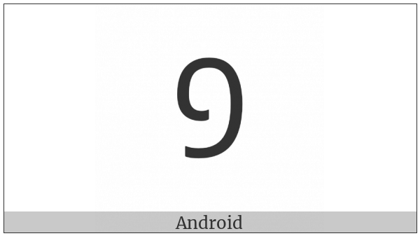 Mongolian Digit One on various operating systems
