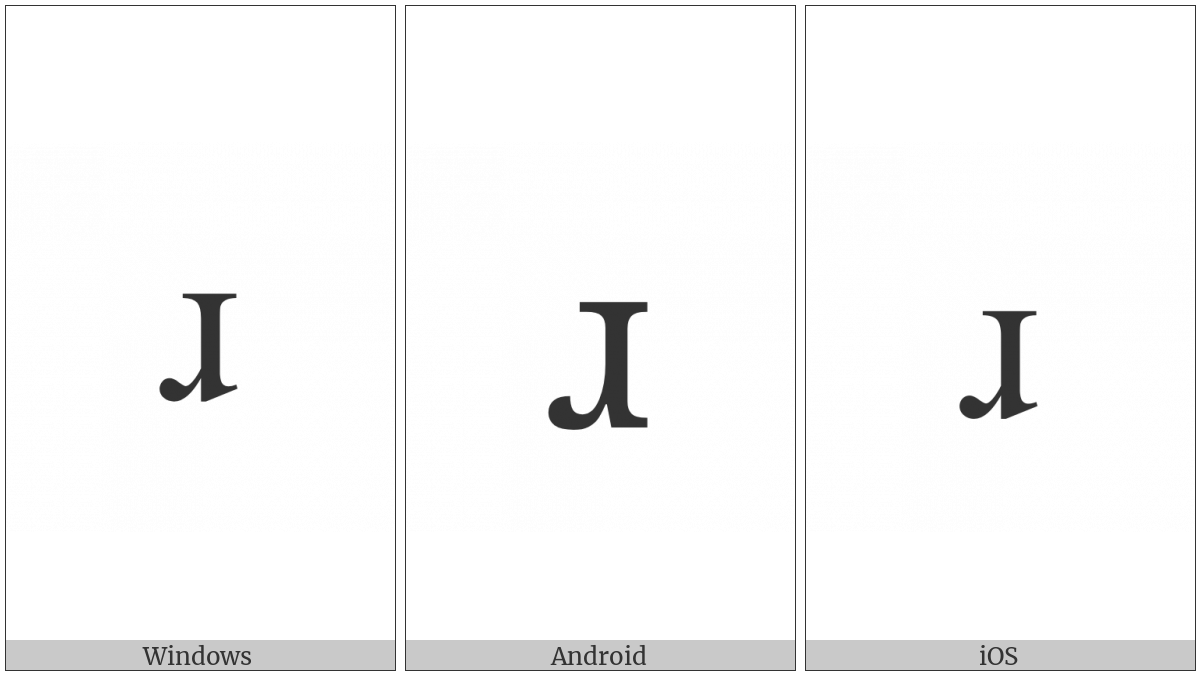 LATIN SMALL LETTER TURNED R utf-8 character