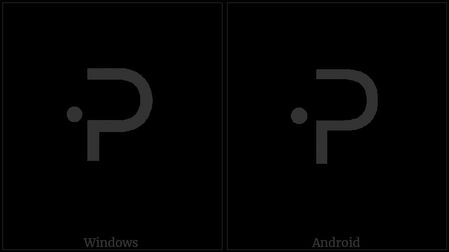 Canadian Syllabics Rwo on various operating systems