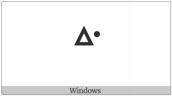 Canadian Syllabics Western W on various operating systems