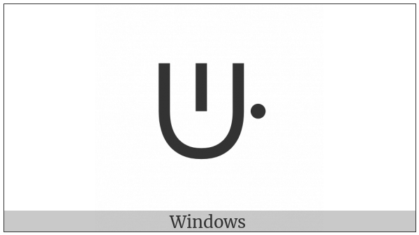 Canadian Syllabics Tthwe on various operating systems