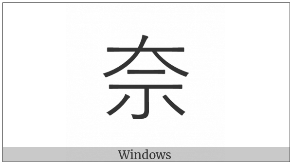 Cjk Compatibility Ideograph-F90C on various operating systems