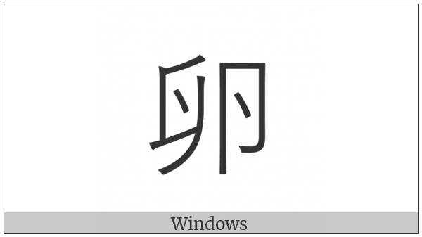 Cjk Compatibility Ideograph-F91C on various operating systems