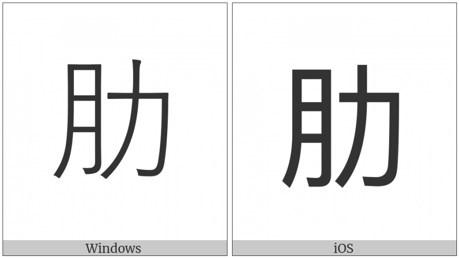 Cjk Compatibility Ideograph-F953 on various operating systems