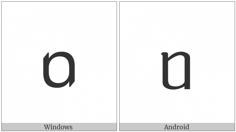 Tai Le Letter Va on various operating systems