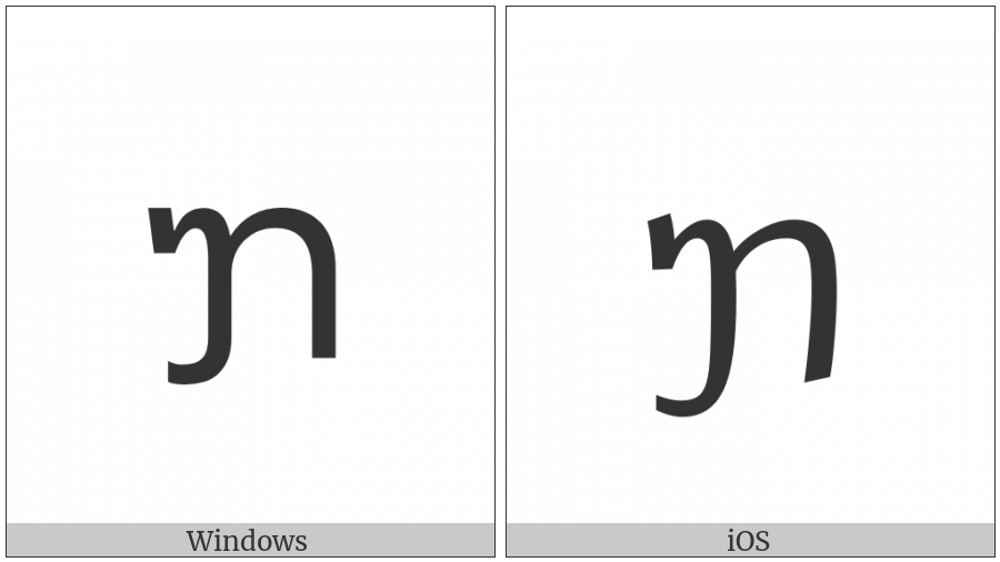 Tai Le Letter Qa on various operating systems