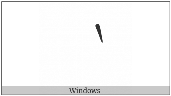Fullwidth Grave Accent on various operating systems