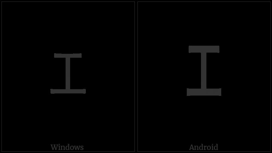 Halfwidth Katakana Letter E on various operating systems