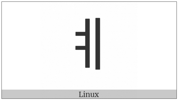 Halfwidth Hangul Letter Ye on various operating systems
