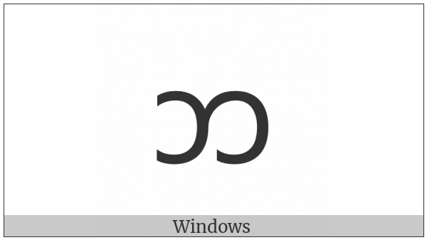 New Tai Lue Letter Low Pha on various operating systems