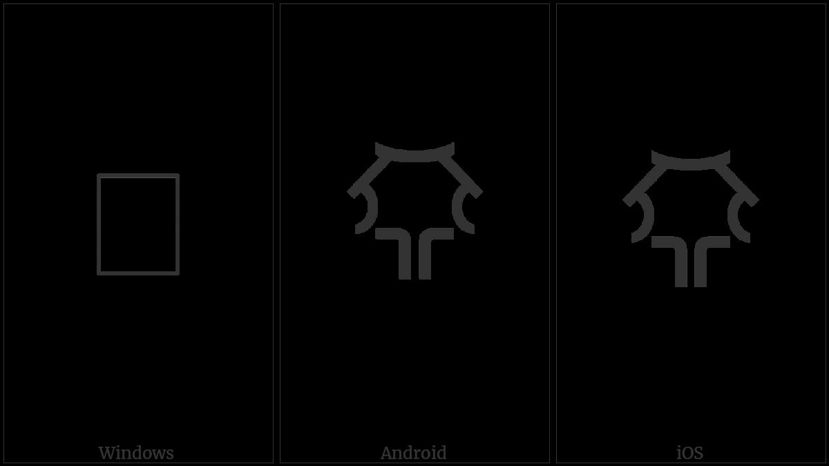 LINEAR B IDEOGRAM B154 utf-8 character