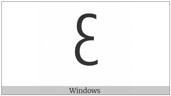 New Tai Lue Vowel Sign O on various operating systems
