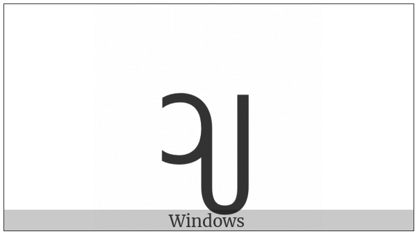 New Tai Lue Vowel Sign Aay on various operating systems
