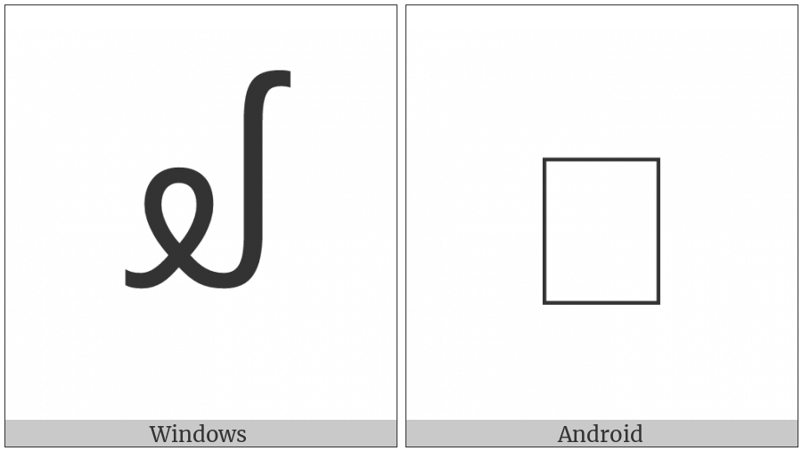 New Tai Lue Vowel Sign Oay on various operating systems