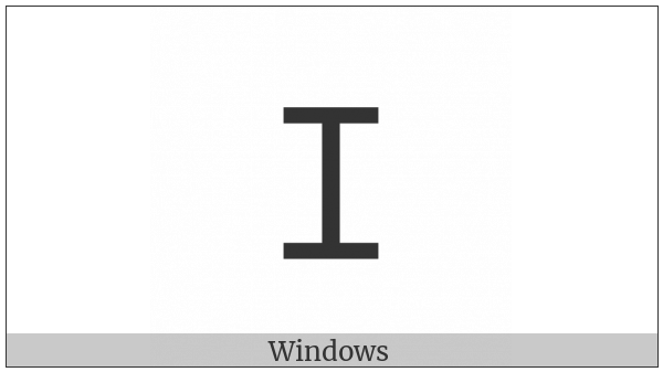 Lycian Letter Z on various operating systems