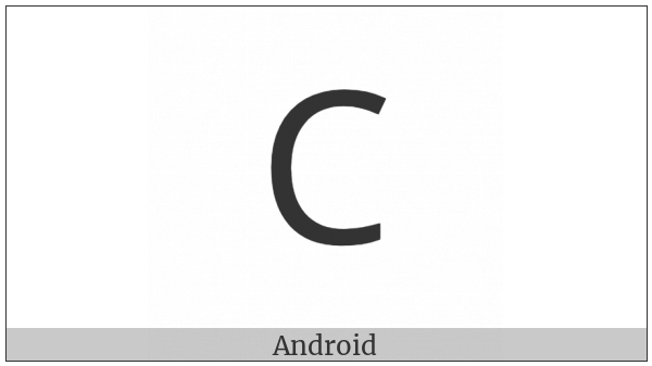 Carian Letter D on various operating systems