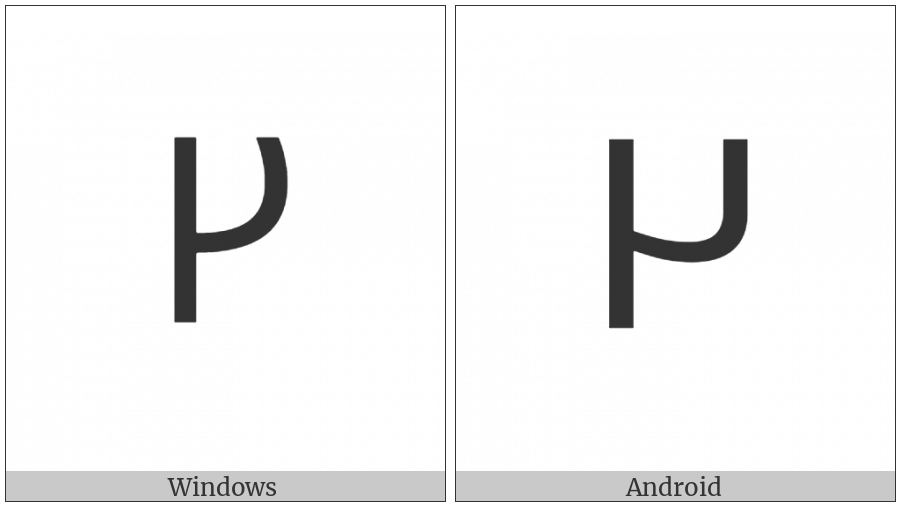 Carian Letter Mb4 on various operating systems