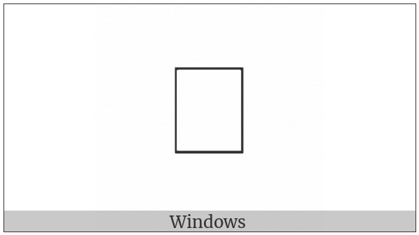 Old Permic Letter Dzhoi on various operating systems