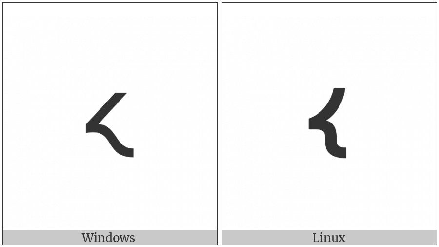 Shavian Letter Out on various operating systems
