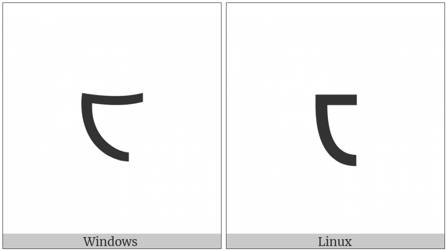 Shavian Letter Age on various operating systems