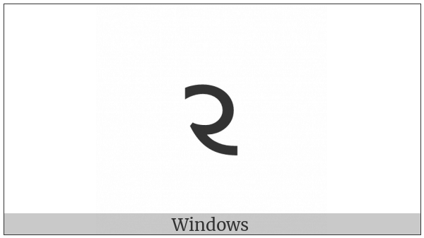 Shavian Letter Awe on various operating systems
