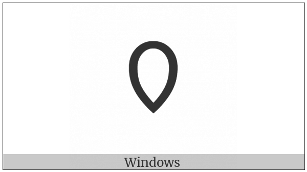Cypriot Syllable Ja on various operating systems