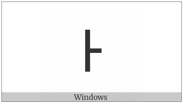 Cypriot Syllable Ta on various operating systems