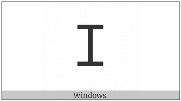 Cypriot Syllable We on various operating systems