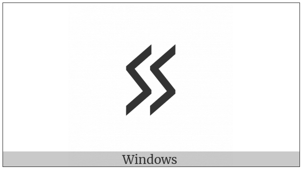 Cypriot Syllable Zo on various operating systems