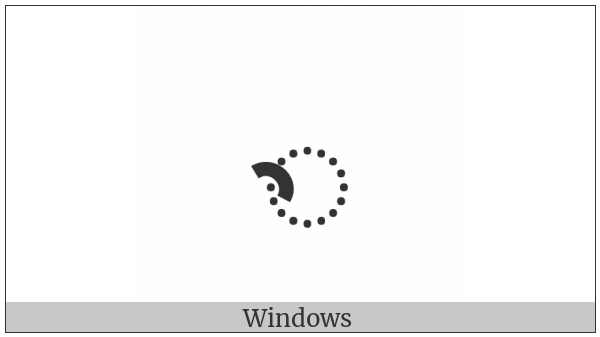 Kharoshthi Vowel Sign U on various operating systems