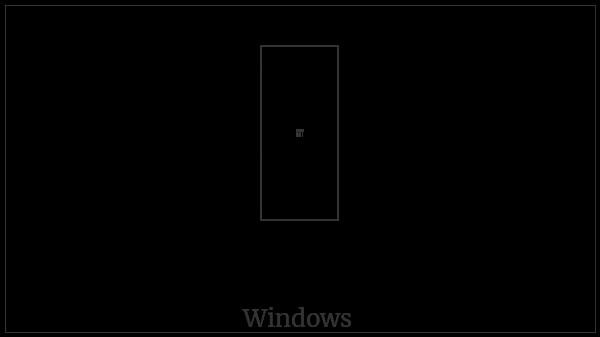 Kharoshthi Letter Ha on various operating systems