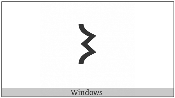 Old Turkic Letter Orkhon Enc on various operating systems
