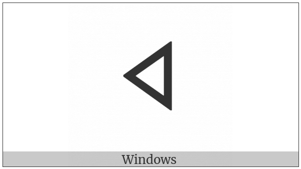 Old Turkic Letter Orkhon Iq on various operating systems