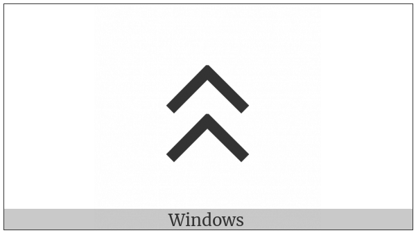 Old Turkic Letter Yenisei At on various operating systems