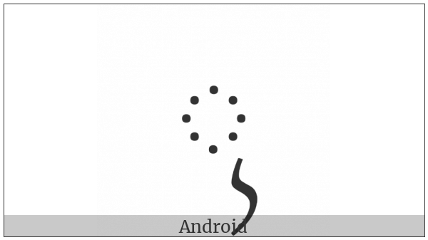 Balinese Vowel Sign Suku Ilut on various operating systems