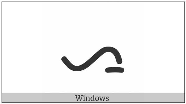Batak Letter Simalungun A on various operating systems