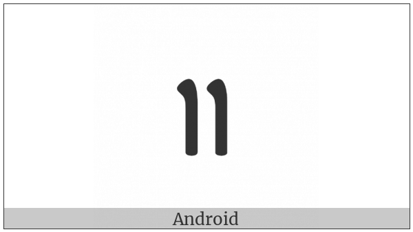 Ahom Sign Section on various operating systems