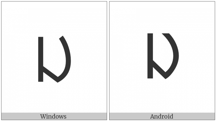 Ol Chiki Letter Aaj on various operating systems