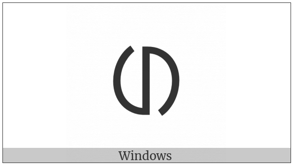 Ol Chiki Letter Edd on various operating systems