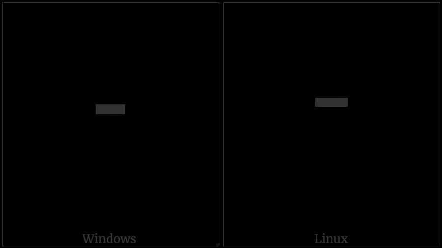 Ol Chiki Phaarkaa on various operating systems