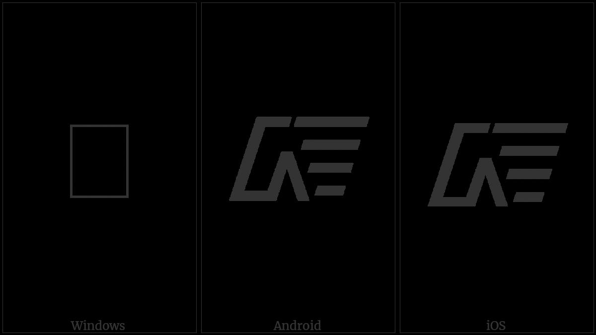 Sundanese Punctuation Bindu Da Satanga on various operating systems
