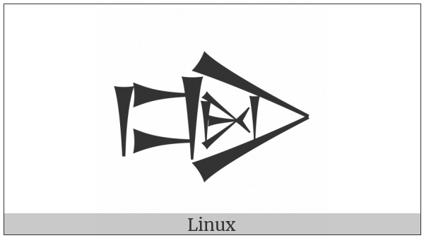 Cuneiform Sign Dug Times Kushu2 on various operating systems