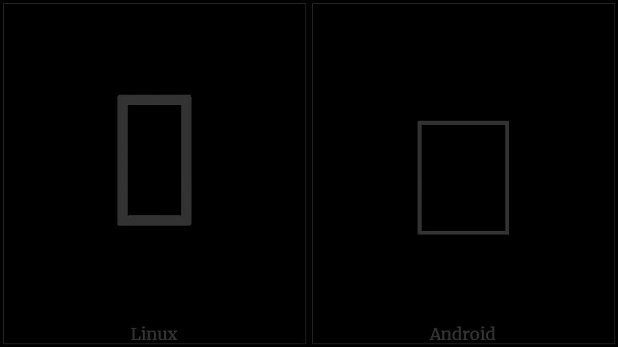 Cuneiform Sign Ka Times Ka on various operating systems