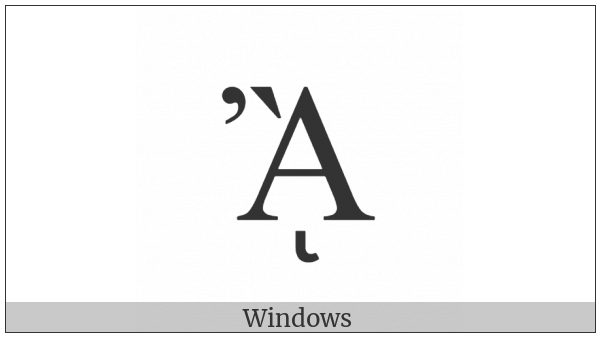 Greek Capital Letter Alpha With Psili And Varia And Prosgegrammeni on various operating systems