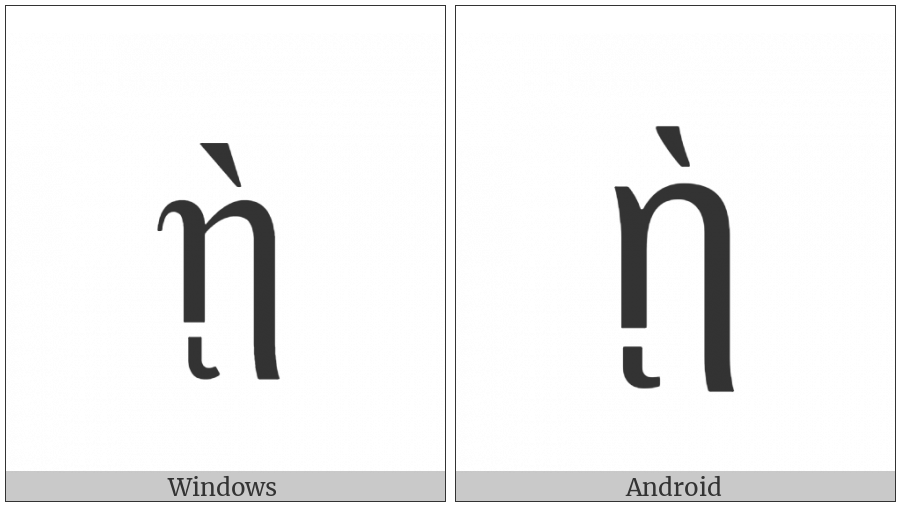 Greek Small Letter Eta With Varia And Ypogegrammeni on various operating systems