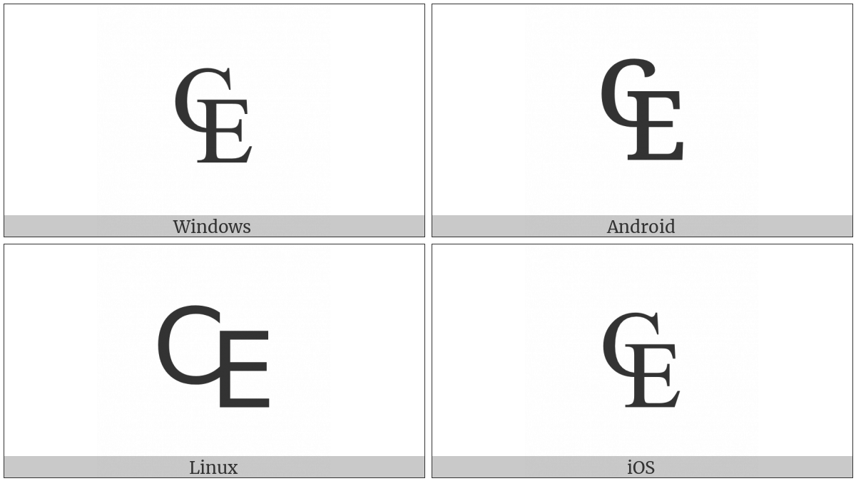 Euro-Currency Sign on various operating systems