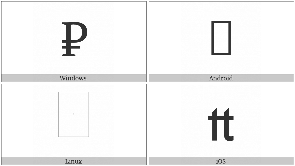 Livre Tournois Sign on various operating systems